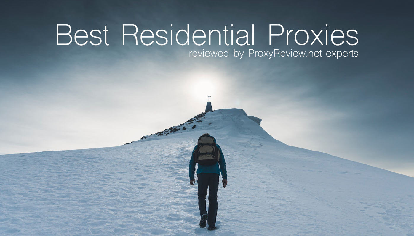 best residential proxy